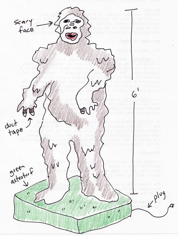 Stollen Gorilla